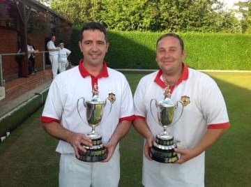 Dave Godwin and Paul  Macdonald
